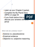 monday- pseudoscience 8th