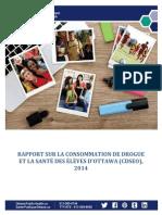 Rapport Drogues Ottawa 2014