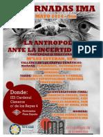 Cartel_iii_jornadas Antropologia Ante La Incertidumbre Ima