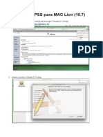 Ejecutar PSS Para MAC Lion (10.7)