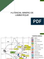 Potencial Minero Lambayeque