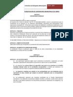 Reglamento de Acreditacion de Supervisores Municipales de Obras