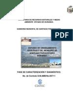 Estudio de Ordenamiento de Santiago Papasquiaro