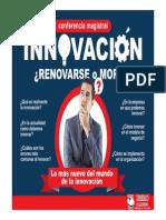 4 Innovacion Renovarse o Morir Sael Barraza