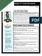week 4 newsletter 1