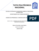 Le Energía Nuclear Como Medio Para Desarrollo de México