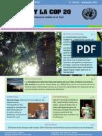 """Boletin de #COP20 """"Bosques y Cambio Climático"""". Por ONU"""