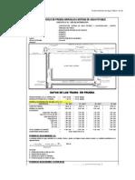 Protocolo de Prueba Hidraulica.