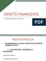 Slides - Aula 3 de Direito Financeiro (Receitas)