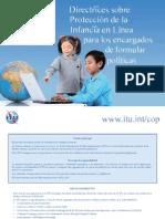 Directrices sobre Protección de la Infancia en Línea
