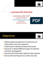 Cyber Security Overview