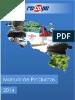 Manual de Productos RECOPE 2014 2