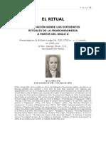 EL RITUAL.  G.  OLIVER