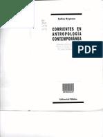 Reynoso (1988) Corrientes en Antropología Contemporánea