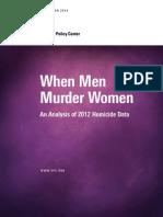 2012 Domestic Violence Statistics