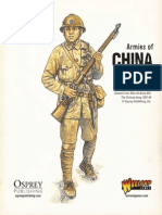 Bolt Action Chinese Army List