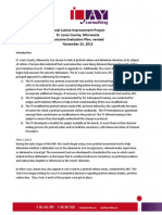 mn outcome evaluation plan and report
