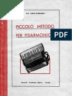 Metodo Maddalena - Piccolo metodo per fisarmonica
