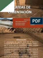 PLATEAS DE CIMENTACI+ôN