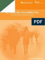Folleto Cancer Colorrectal (Esp)