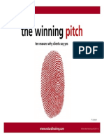 The Winning Pitch - Why Customers Say Yes - Natural Training