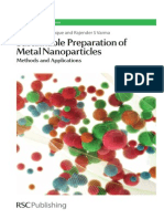 3374. Sustainable Preparation of Metal Nanoparticles