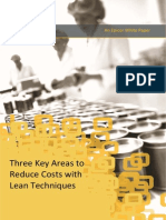 3 Key Areas to Reduce Costs With Lean Techniques