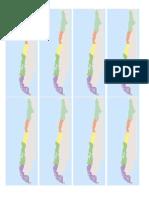 Mapa Chile Zonas