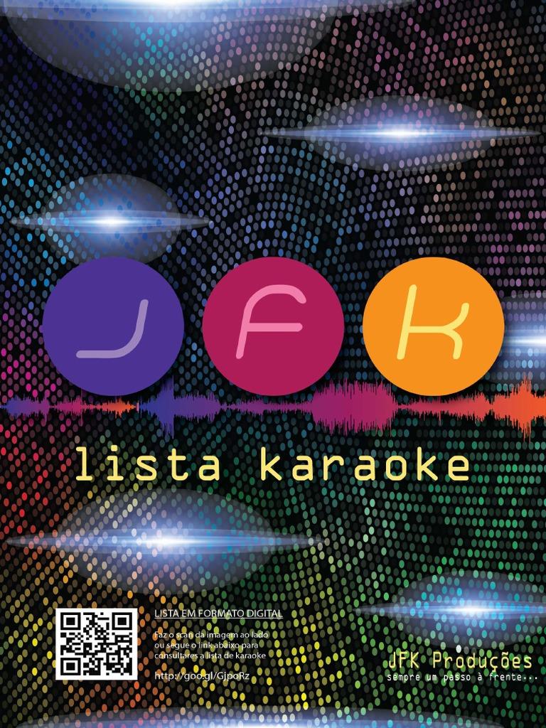 5c99409302 Lista Karaoke JFK