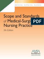 AMSN Scope Standards MS Nursing