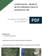 Economía Institucional