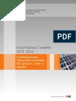 Guía Práctica Contable 2013-2014