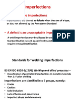 Weld Imperfections