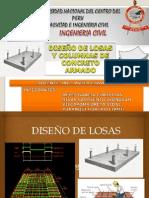 Diseño de Losas y Columnas