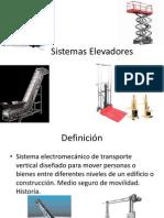 Sistemas Elevadores