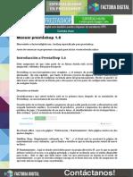 Manual Prestashop16 Factoriadigital
