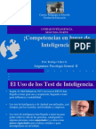 Clase Sobre Inteligencia 2º Competencias 2013