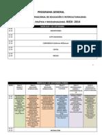 Programa Congreso Riedi 2014