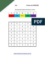 Bateria Estimulacion Cognitiva Sigue El Patrón de Números y Colores 10