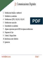PPT Comunicaciones Digitales - Modulación