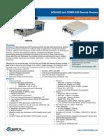 Comtech/EFData ODM-840/ODMR-840 Remote Router Data Sheet
