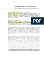 Caso Garrido y Baigorria vs Argentina