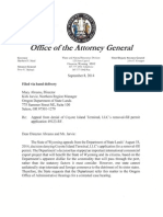 State of Wyoming Hearing Request