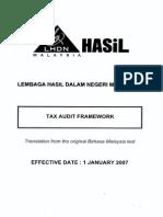 Framework for Tax Investigation