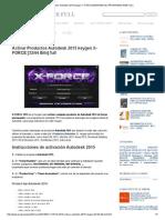 activar productos autodesk 2015 keygen x-force