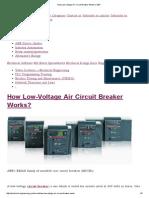 How Low-Voltage Air Circuit Breaker Works_ _ EEP