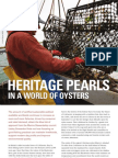 Heritage pearls in a world of oysters
