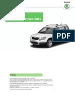 A-SUV Yeti OwnersManual