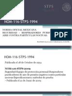 NOM-116-STPS-1994