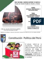 Derecho Penitenciario; Trabajo Educaciòn y Salud
